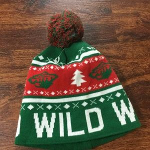 RICHARDSON Minnesota Wild NHL Hockey Green Pom